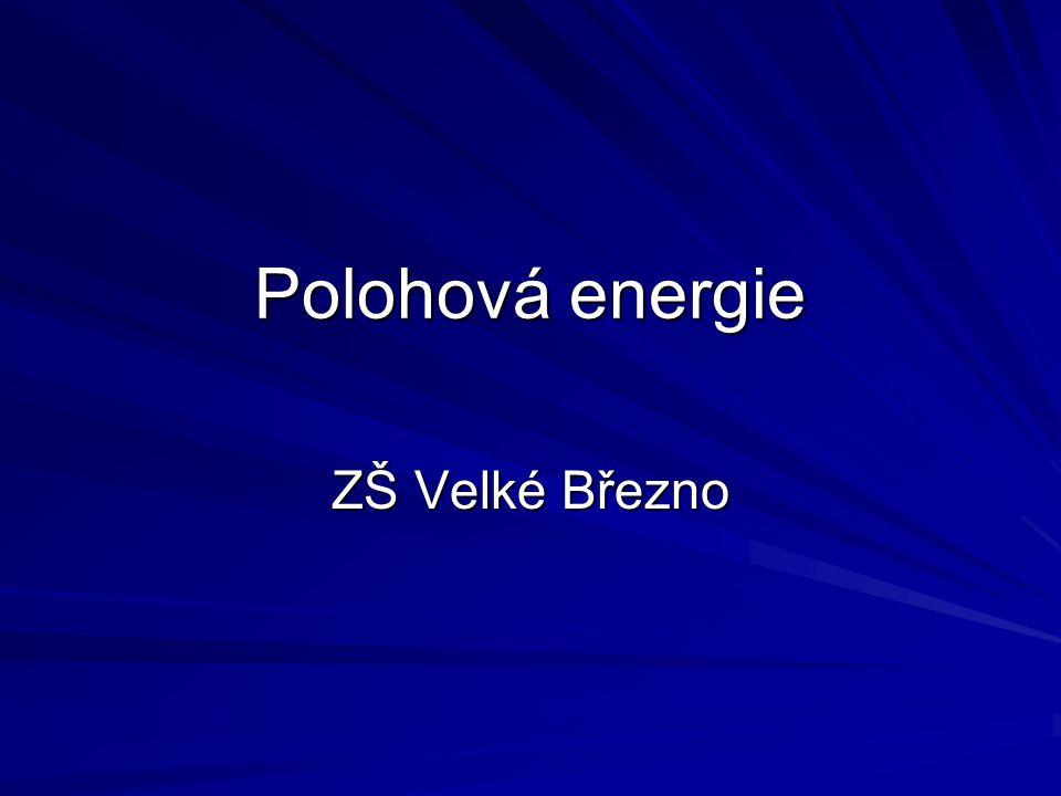 Polohová energie ZŠ Velké Březno
