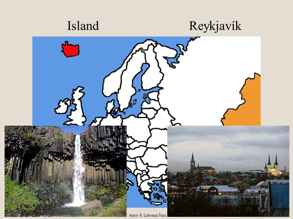 Island Reykjavík Autor © Lubomír Šára