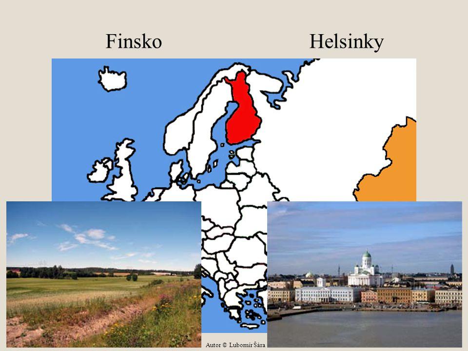 Finsko Helsinky Autor © Lubomír Šára
