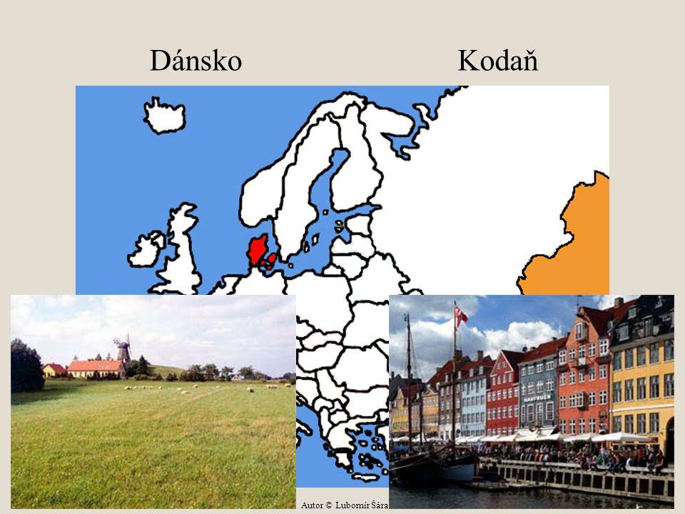 Dánsko Kodaň Autor © Lubomír Šára