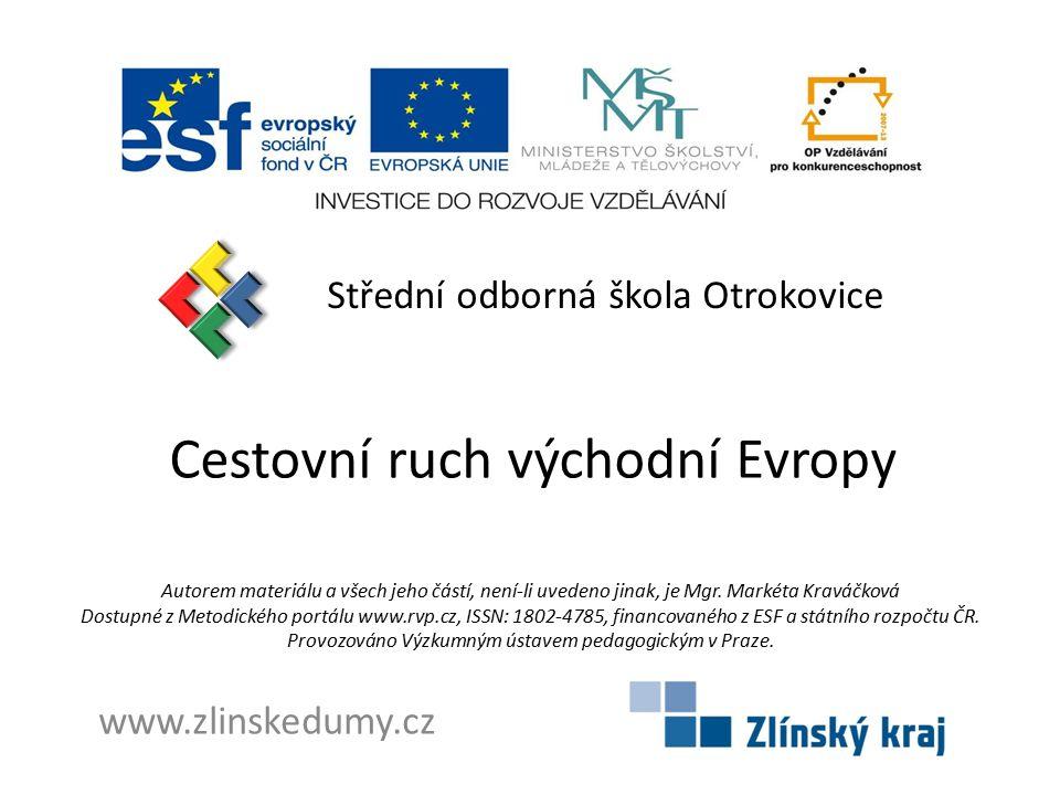 Cestovní ruch východní Evropy