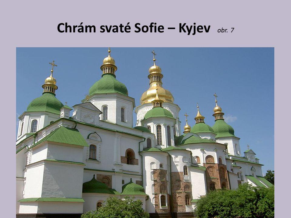 Chrám svaté Sofie – Kyjev obr. 7