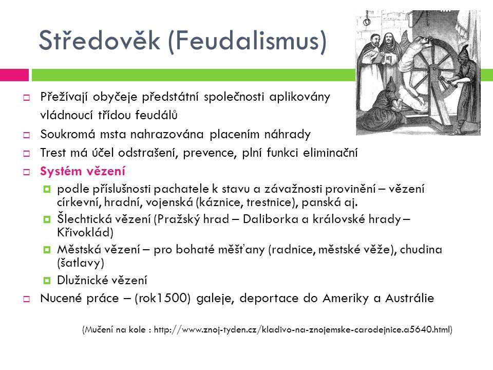 Středověk (Feudalismus)