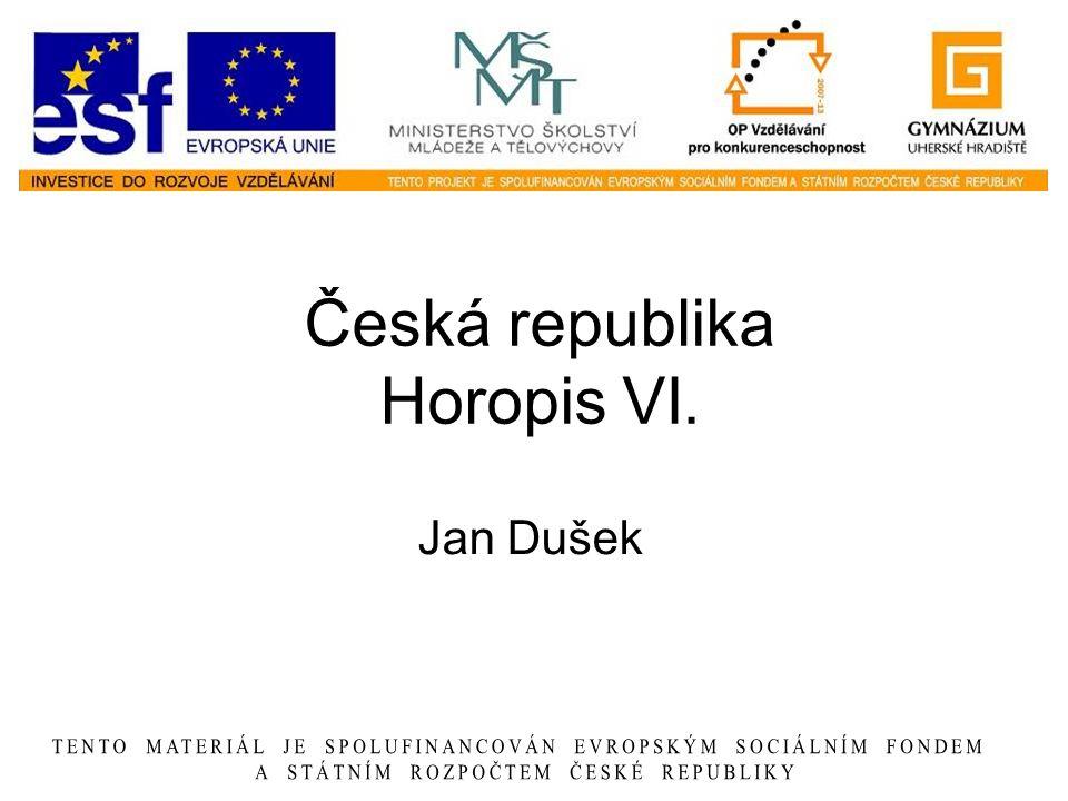 Česká republika Horopis VI.