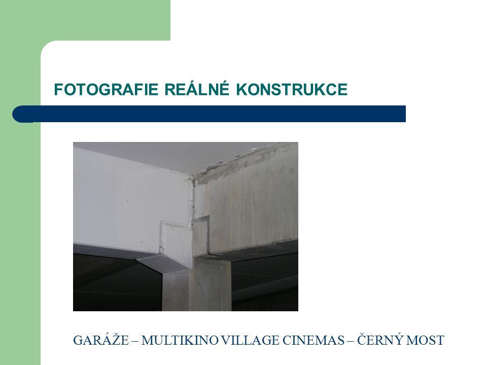 FOTOGRAFIE REÁLNÉ KONSTRUKCE