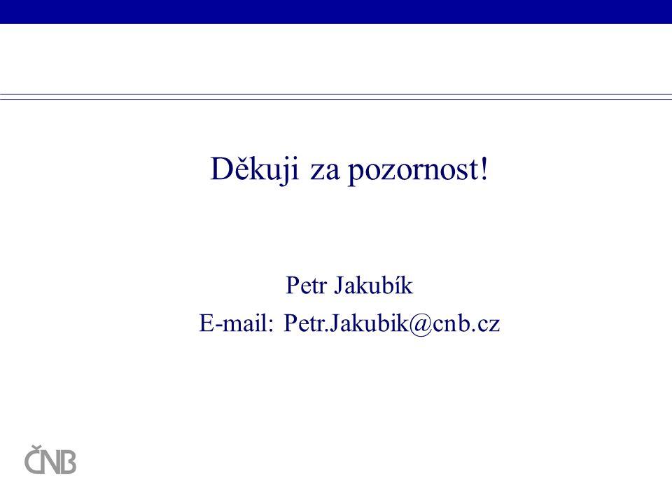 E-mail: Petr.Jakubik@cnb.cz