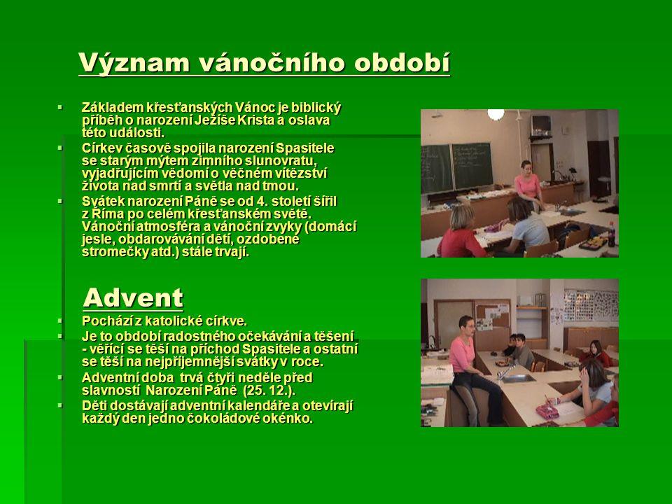 Význam vánočního období