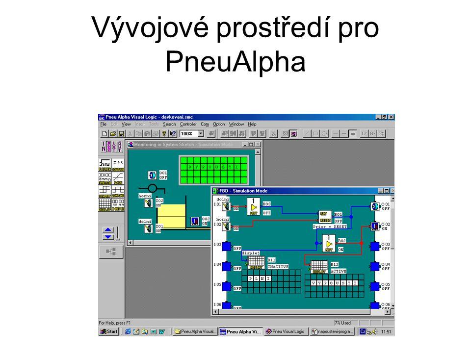 Vývojové prostředí pro PneuAlpha