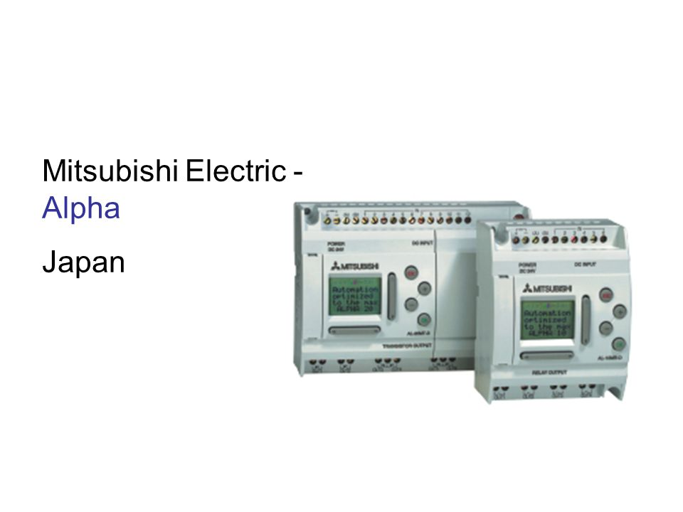 Mitsubishi Electric - Alpha