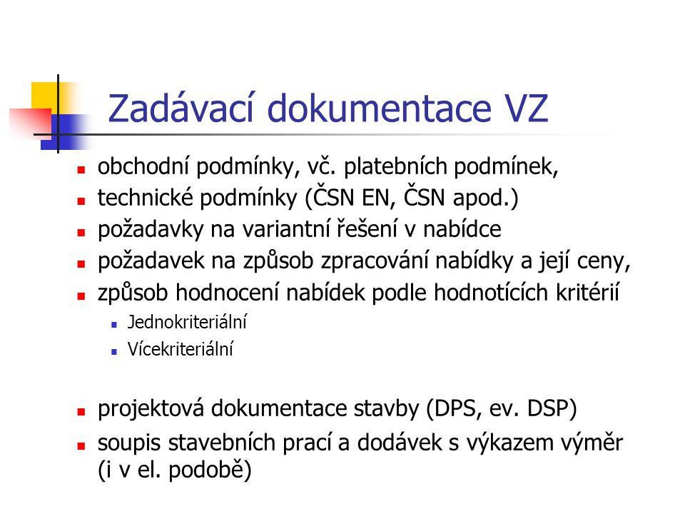 Zadávací dokumentace VZ
