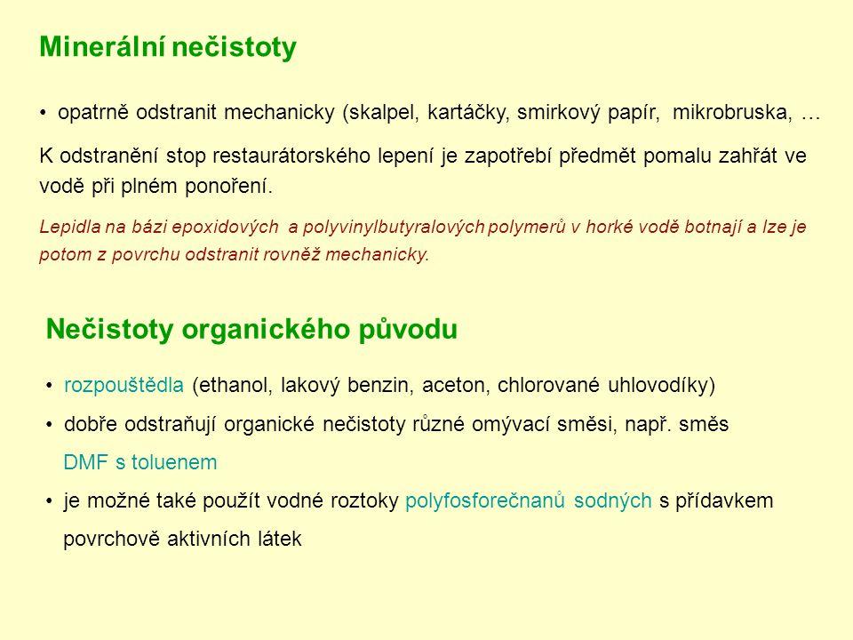 Nečistoty organického původu