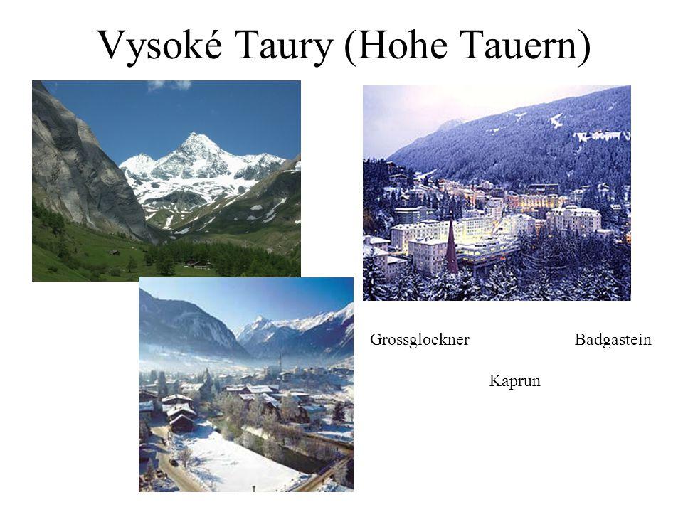 Vysoké Taury (Hohe Tauern)