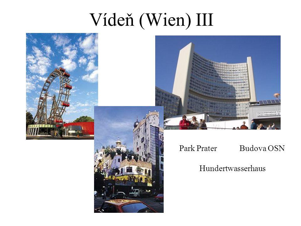 Vídeň (Wien) III Park Prater Budova OSN Hundertwasserhaus