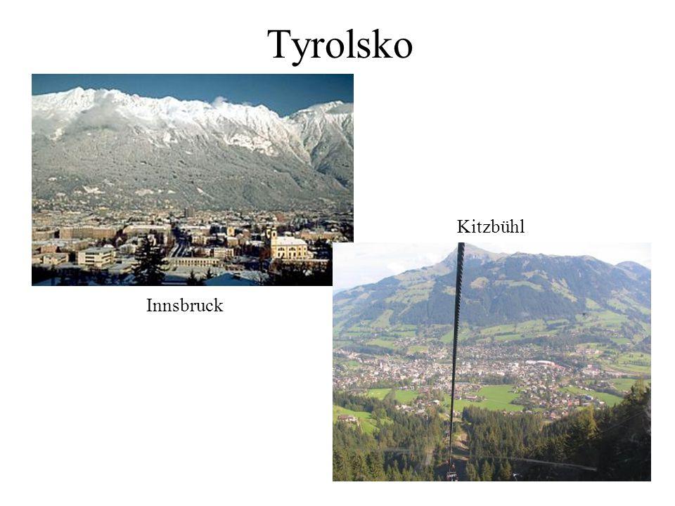 Tyrolsko Kitzbühl Innsbruck