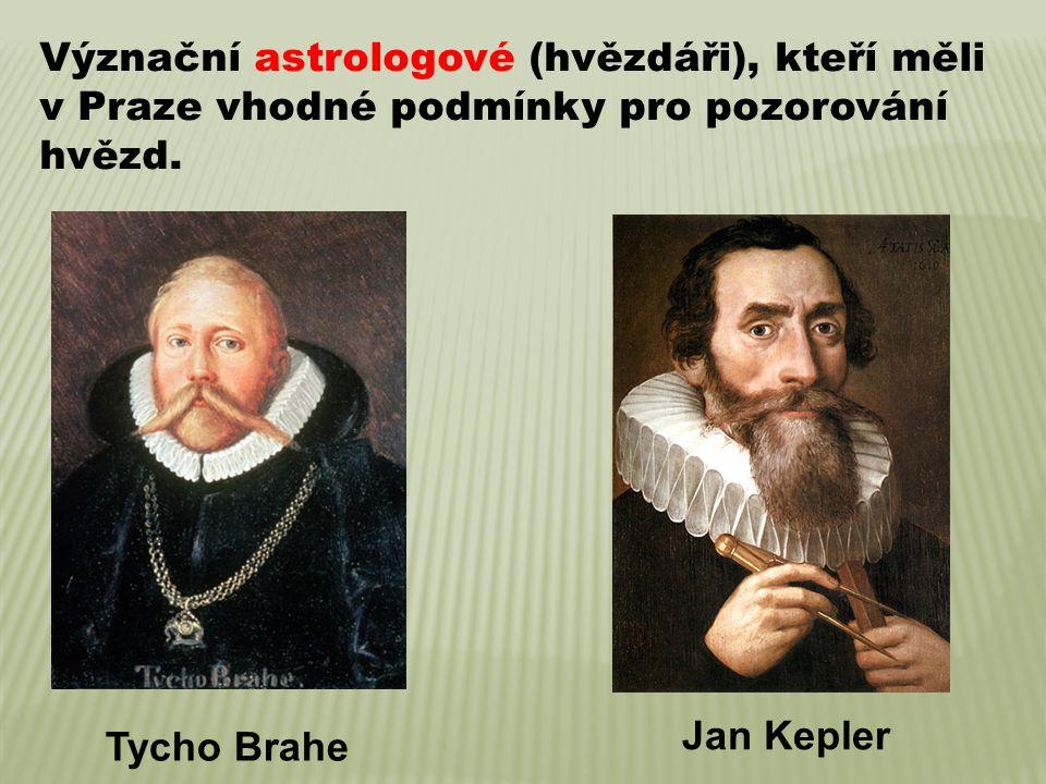 Význační astrologové (hvězdáři), kteří měli