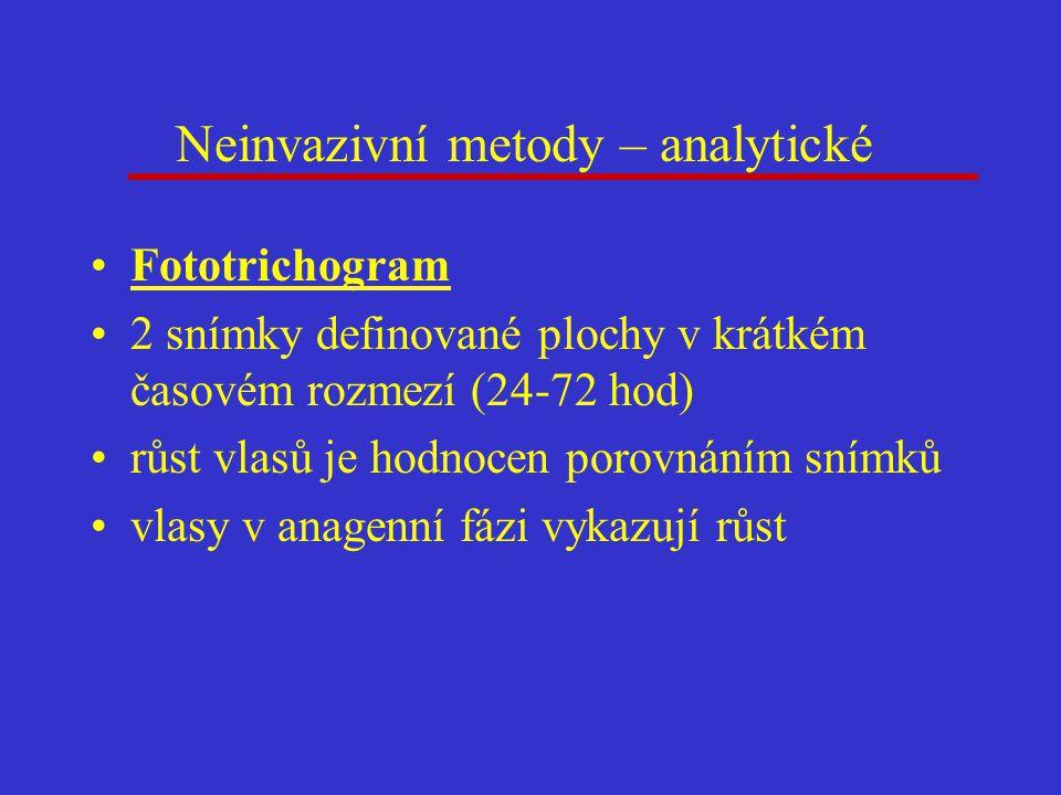Neinvazivní metody – analytické