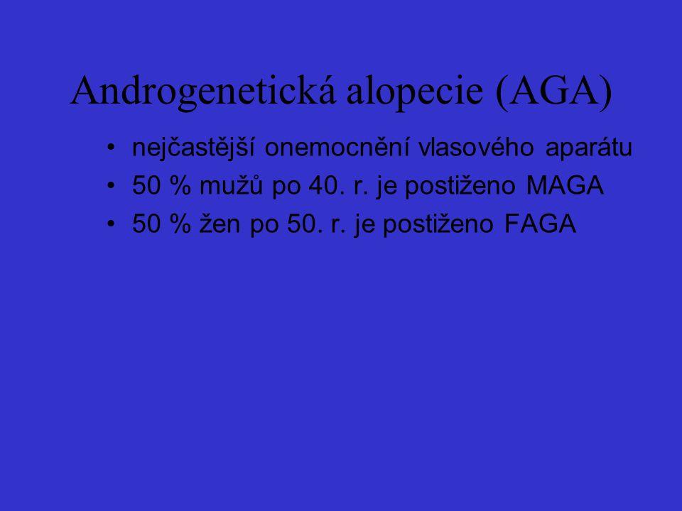 Androgenetická alopecie (AGA)
