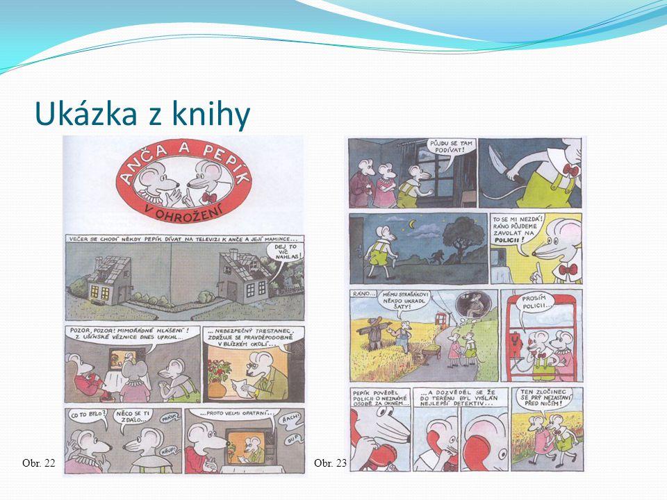 Ukázka z knihy Obr. 22 Obr. 23