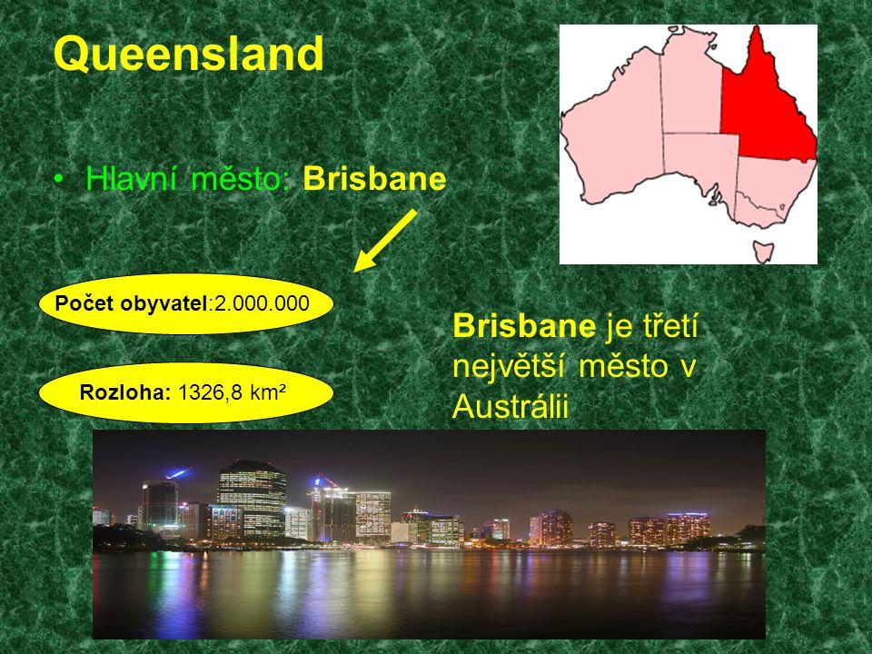 Queensland Hlavní město: Brisbane