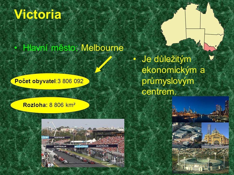 Victoria Hlavní město: Melbourne