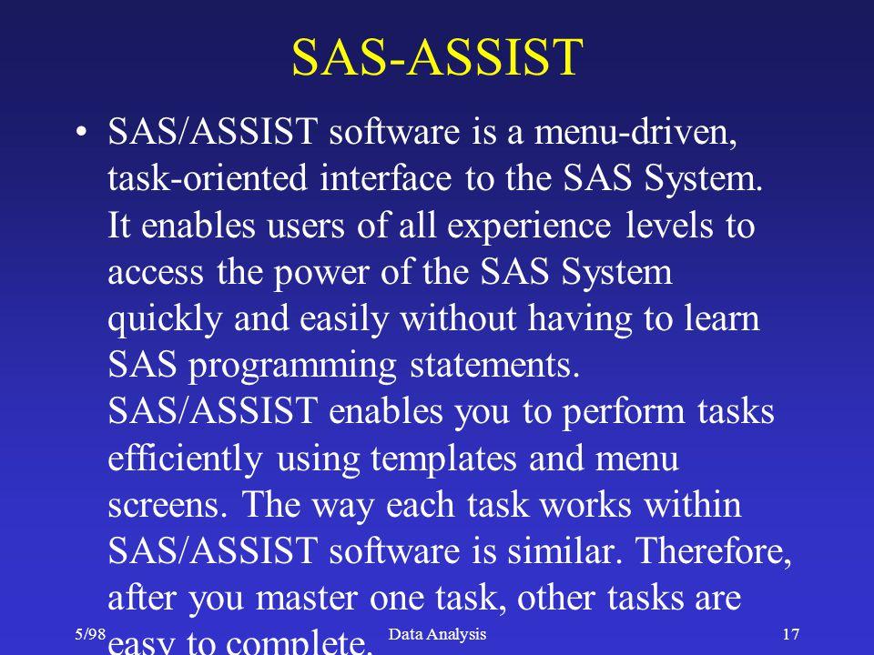 SAS-ASSIST
