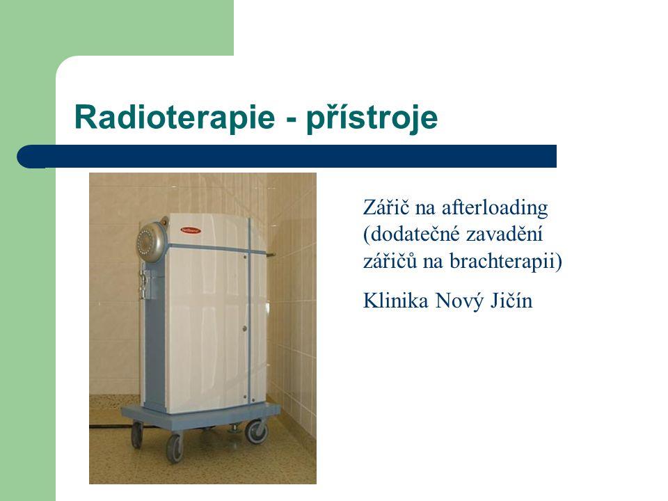 Radioterapie - přístroje