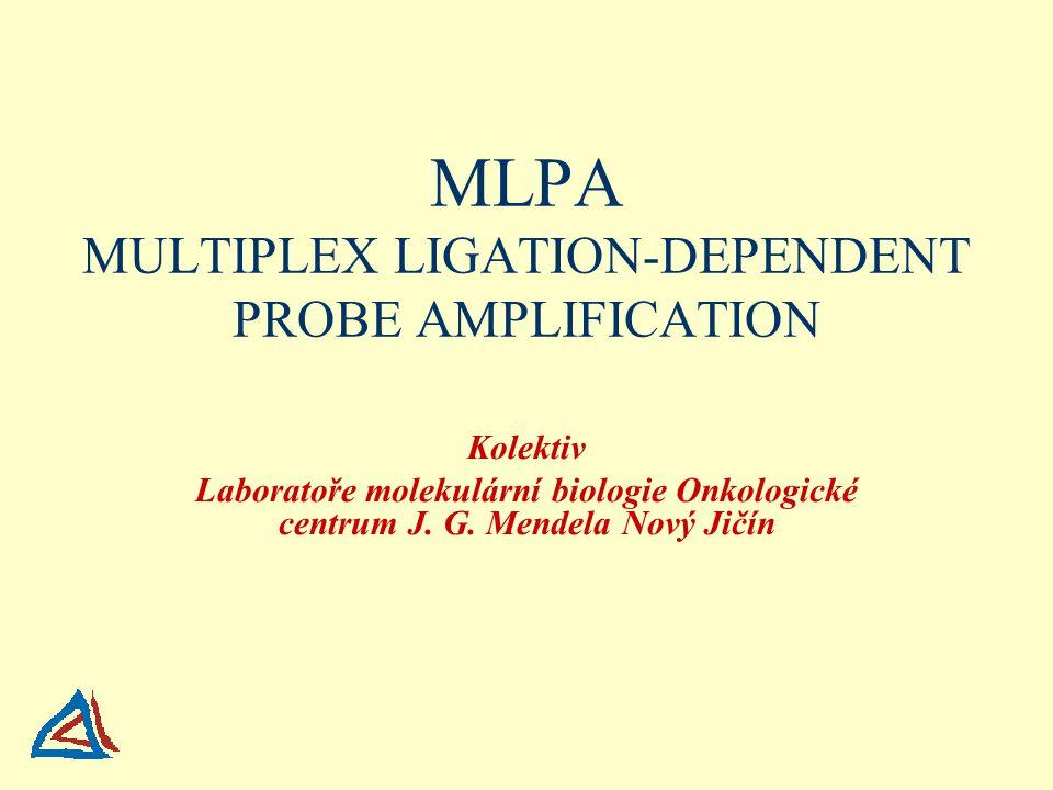 MLPA MULTIPLEX LIGATION-DEPENDENT PROBE AMPLIFICATION