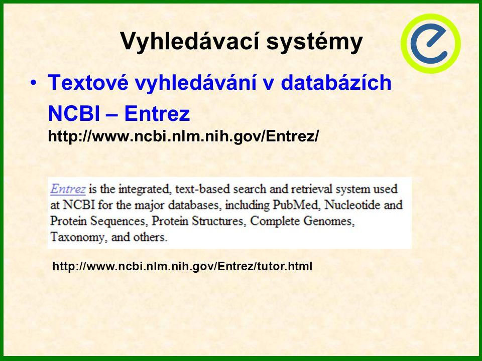 Vyhledávací systémy Textové vyhledávání v databázích