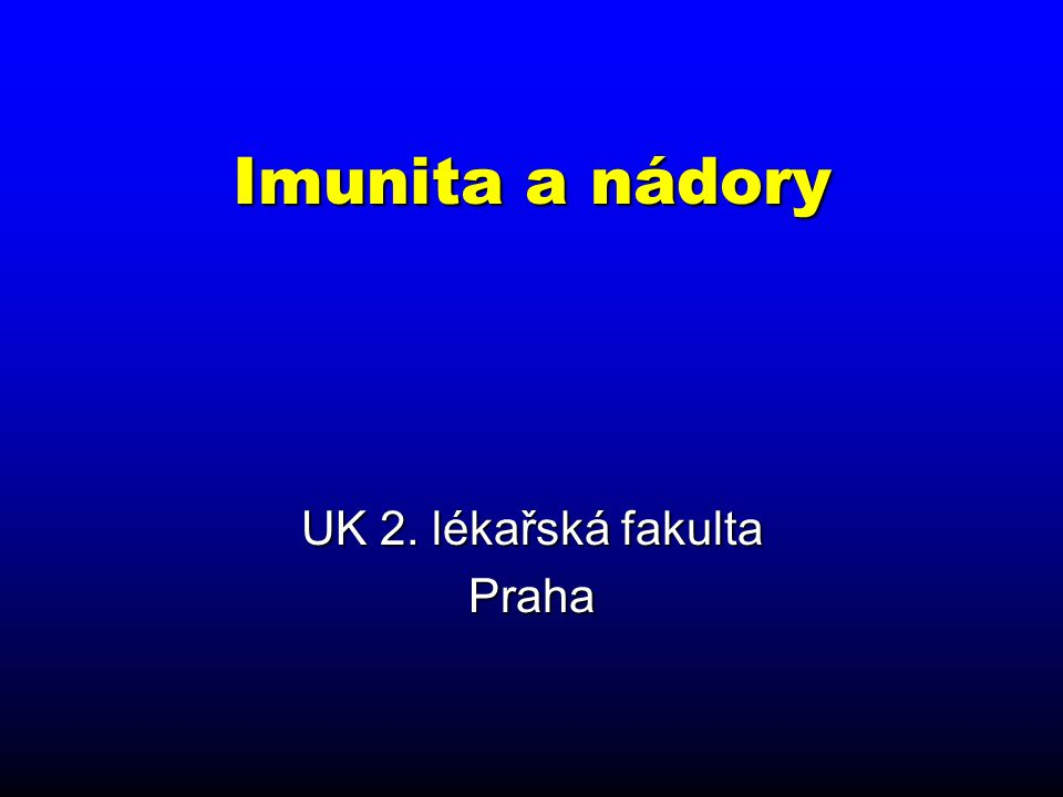 UK 2. lékařská fakulta Praha