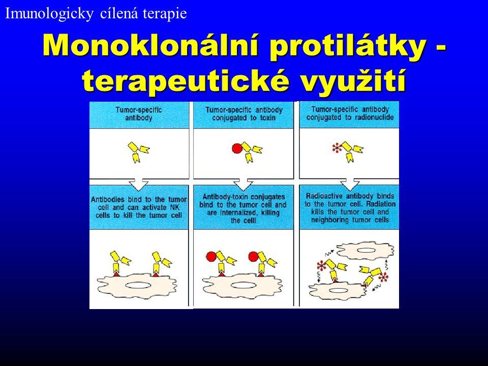 Monoklonální protilátky - terapeutické využití