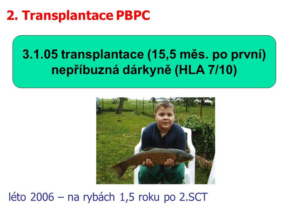 léto 2006 – na rybách 1,5 roku po 2.SCT
