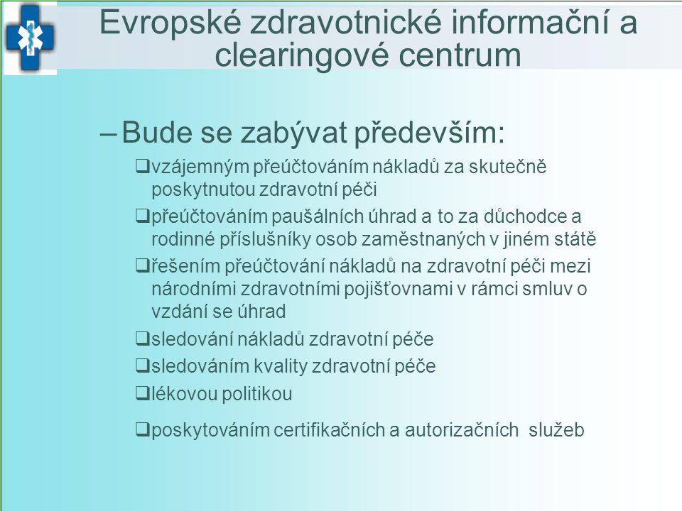 Evropské zdravotnické informační a clearingové centrum
