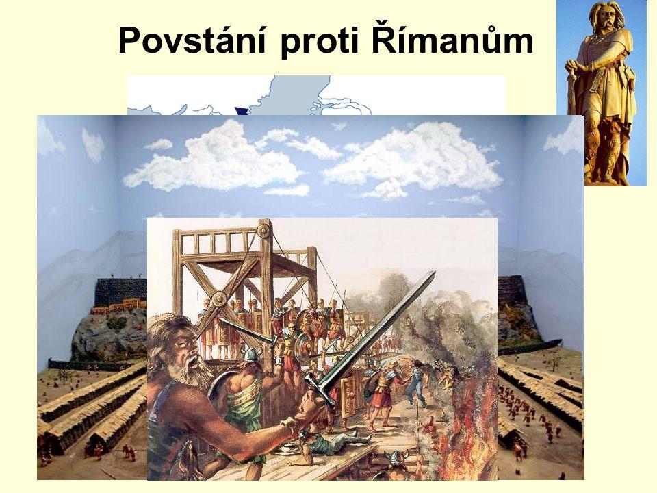 Povstání proti Římanům