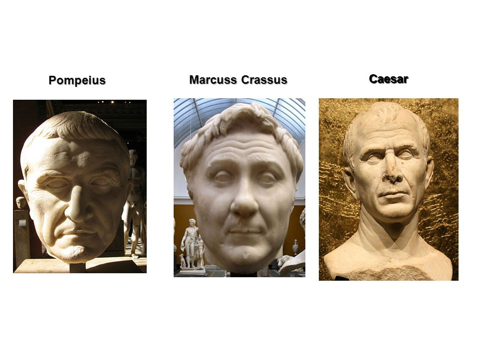 Pompeius Marcuss Crassus Caesar