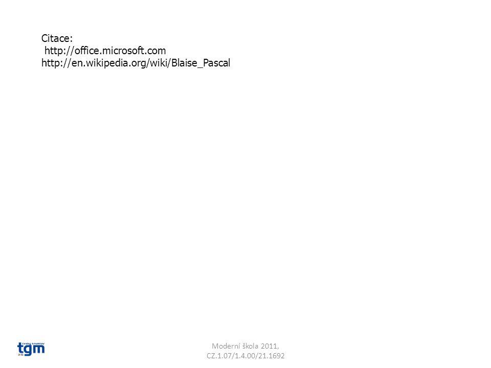 http://office.microsoft.com http://en.wikipedia.org/wiki/Blaise_Pascal