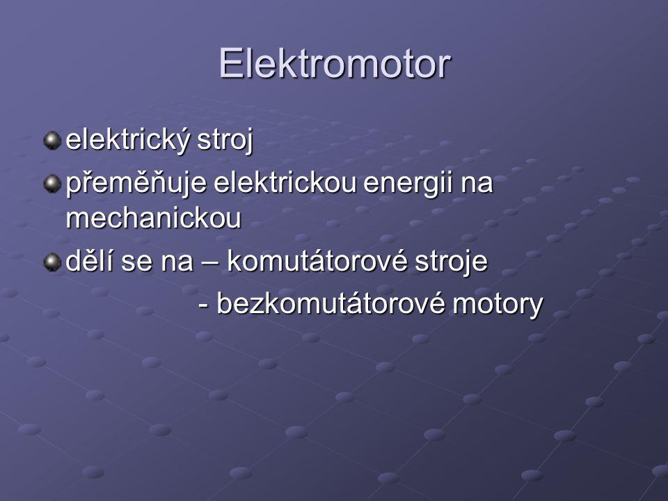 Elektromotor elektrický stroj