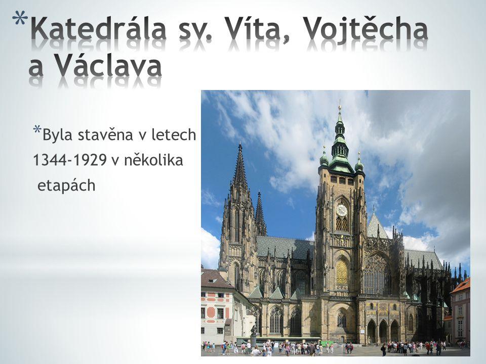 Katedrála sv. Víta, Vojtěcha a Václava