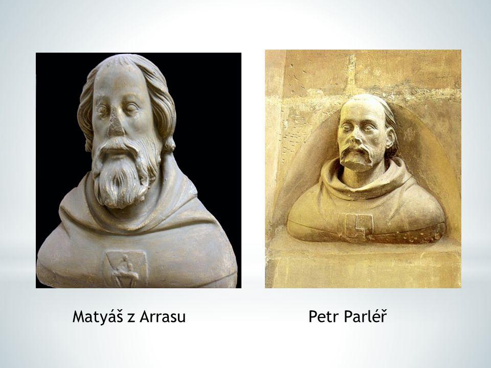 Matyáš z Arrasu Petr Parléř