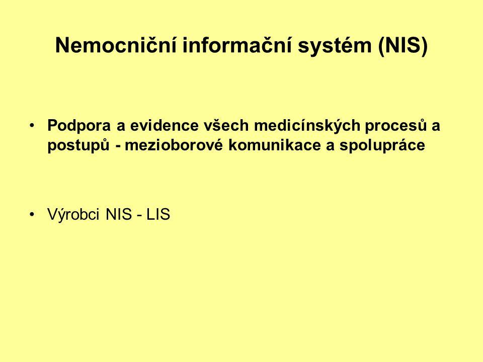 Nemocniční informační systém (NIS)