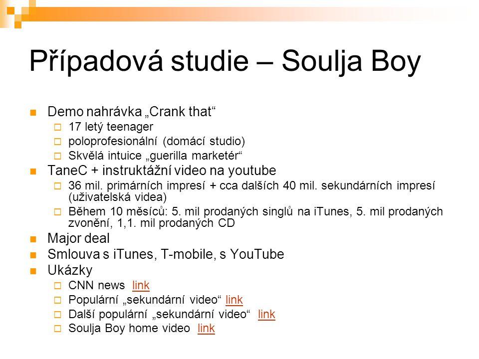 Případová studie – Soulja Boy