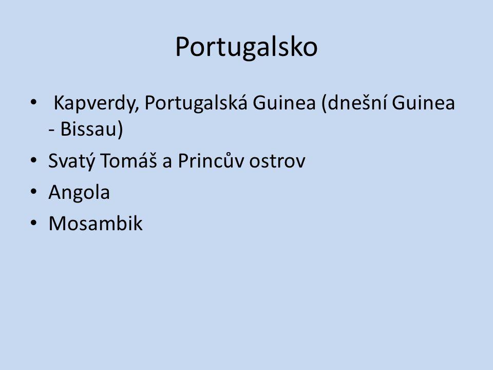 Portugalsko Kapverdy, Portugalská Guinea (dnešní Guinea - Bissau)
