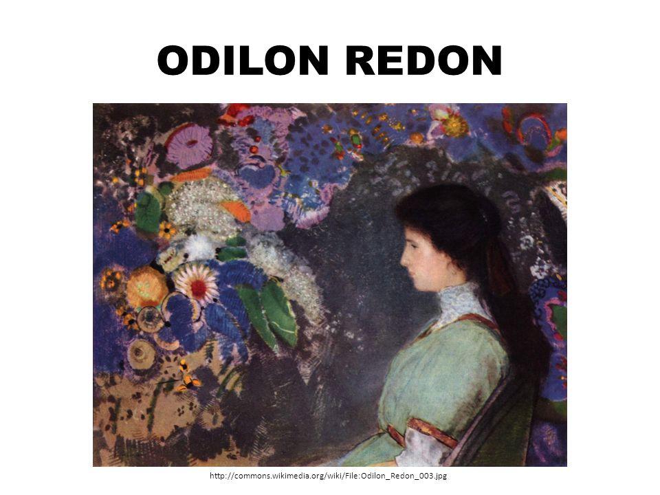Odilon Redon http://commons.wikimedia.org/wiki/File:Odilon_Redon_003.jpg