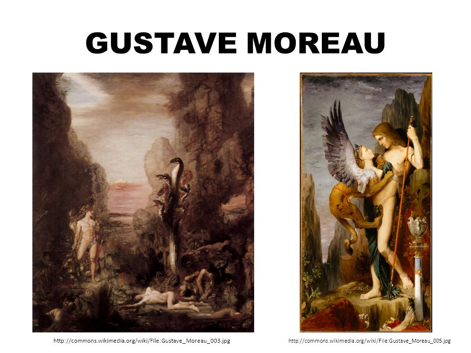 Gustave Moreau http://commons.wikimedia.org/wiki/File:Gustave_Moreau_003.jpg.