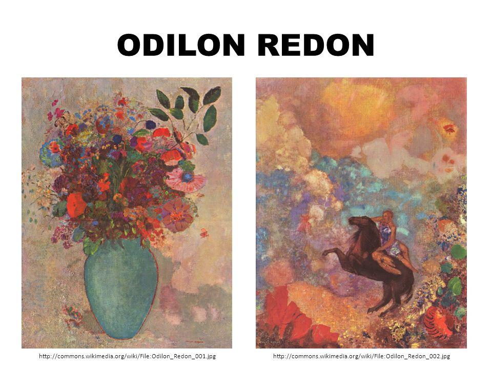 Odilon Redon http://commons.wikimedia.org/wiki/File:Odilon_Redon_001.jpg.