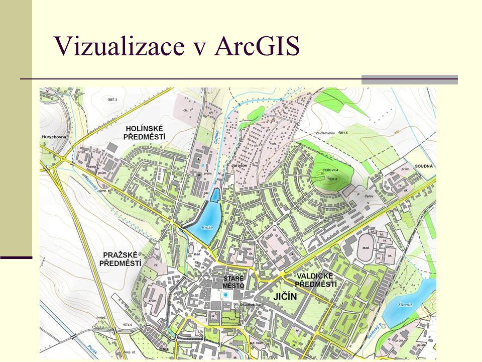 Vizualizace v ArcGIS