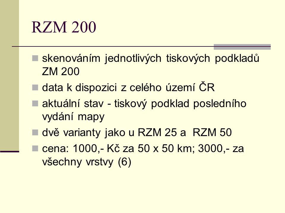 RZM 200 skenováním jednotlivých tiskových podkladů ZM 200