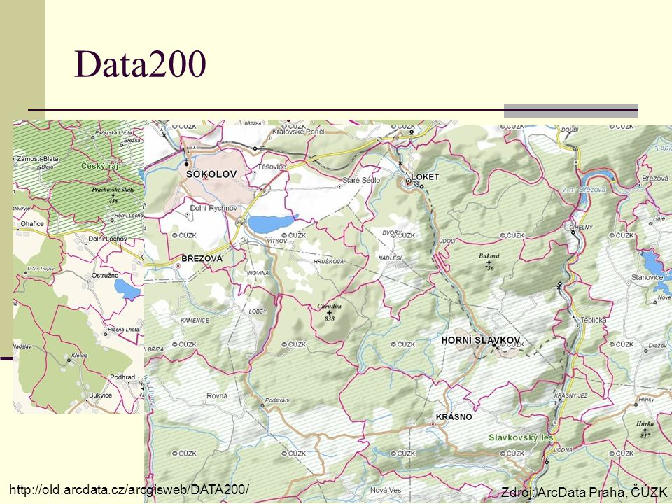 Data200 http://old.arcdata.cz/arcgisweb/DATA200/