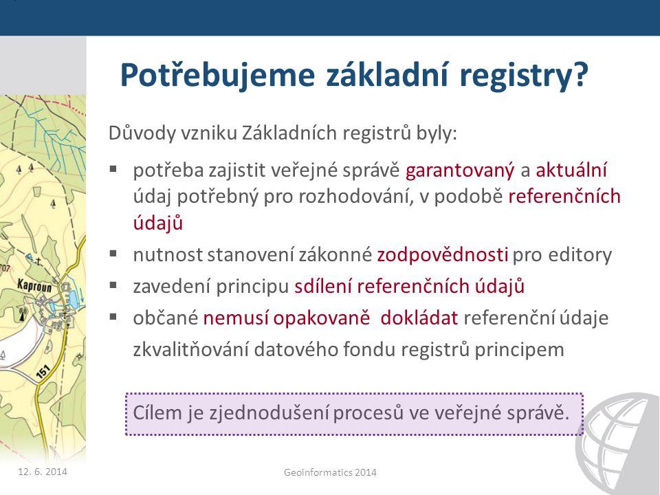 Potřebujeme základní registry