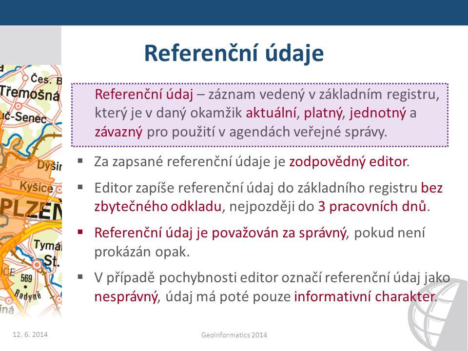 Referenční údaje