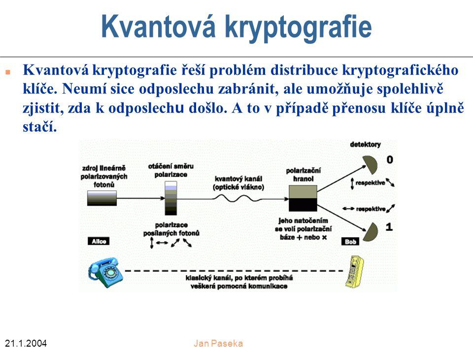 Kvantová kryptografie